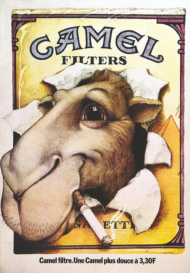Camel Filters- 3,30 F vers 1980
