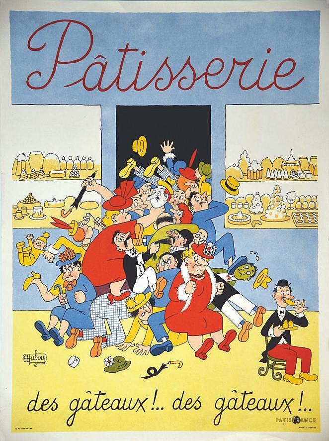 DUBOUT ALBERT  Patisserie, des Gâteaux!... des Gâteaux!...     vers 1960