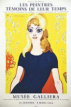 VAN DONGEN KEES  Les Peintres Témoins de Leur Temps Brigitte Bardot     1964