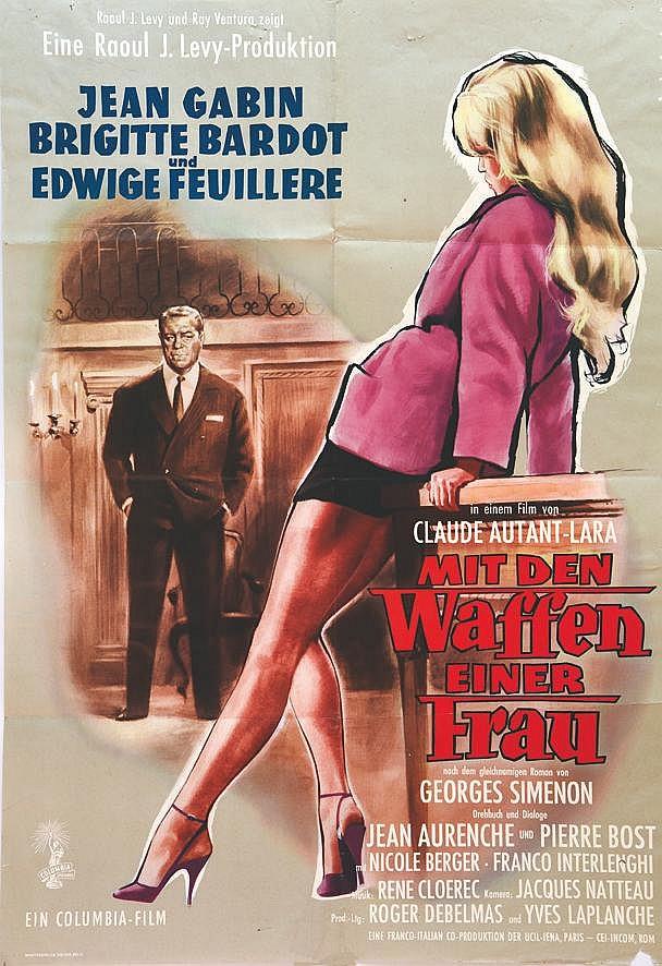 REHAK  Mit den Waffen einer Frau ( En cas de Malheur )     1958