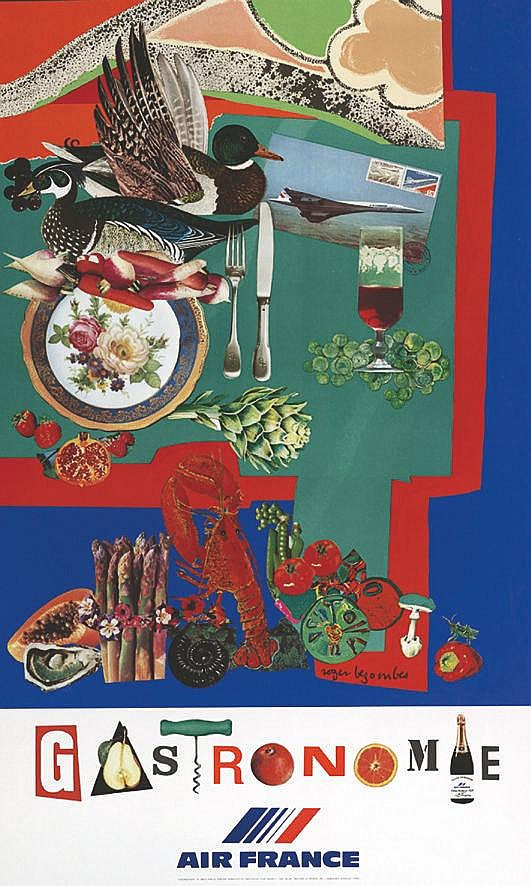 BEZOMBES ROGER  Gastronomie Air France     1981