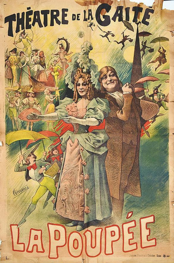 CHOUBRAC  Théâtre de la Gaité - La Poupée     vers 1900