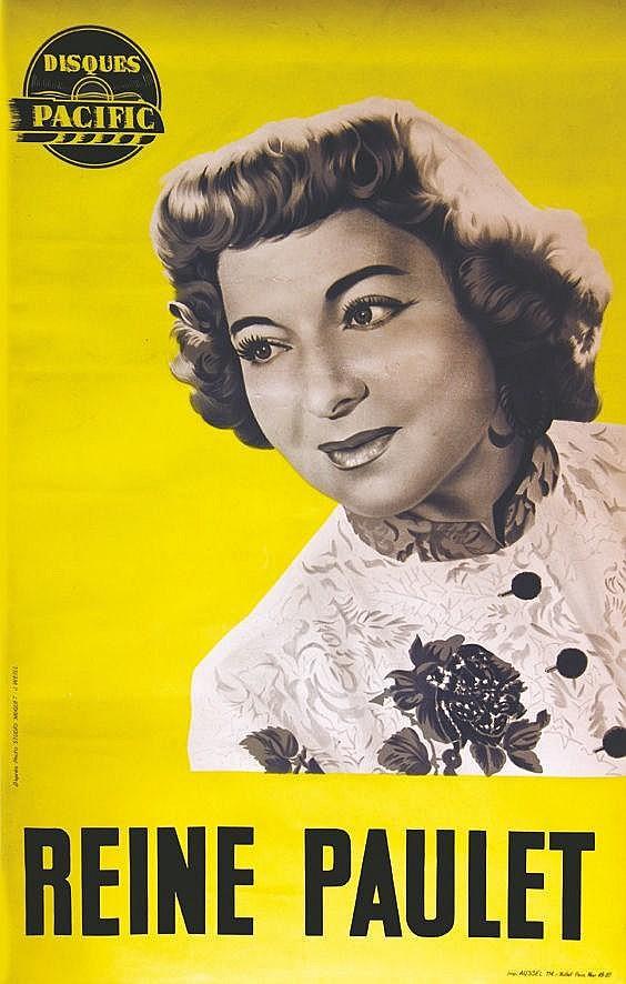 ACH. SIROUY LITH.  Reine Paulet     1949