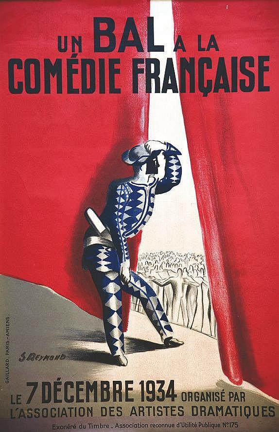 REYMOND S. Bal de la Comedie Française 1934