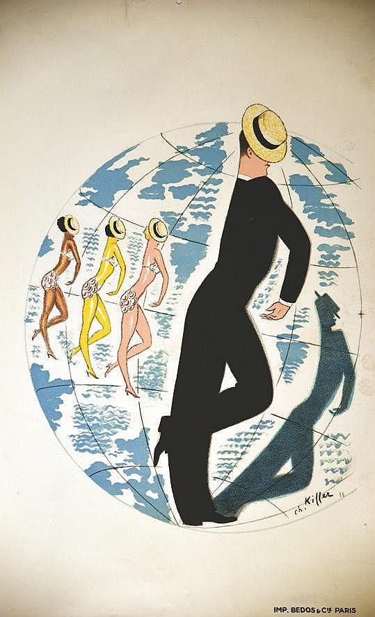 KIFFER CH.  Maurice Chevallier     1935