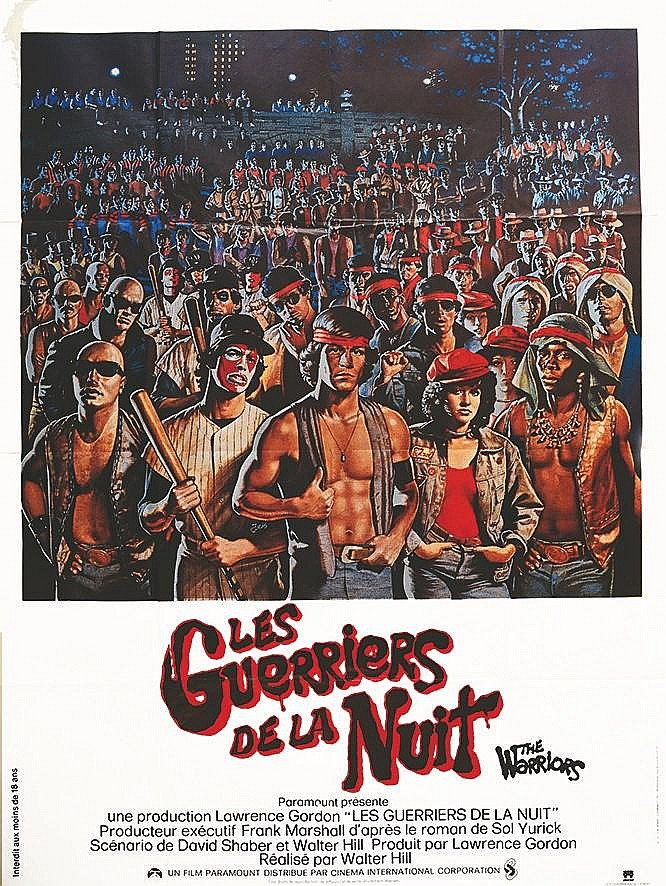 JARUS  Les Guerriers de la Nuit The Warriors     1979