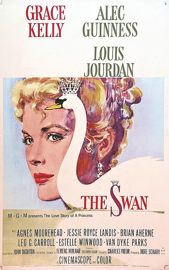 MONET The Swan Grace Kelly one of the last Movies of Grace Kelly /L'avant dernier film de Grace Kelly 1955