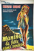 Monica La Fille sans voiles Brigitte Bardot     1953
