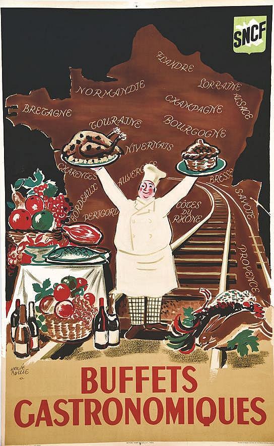 BAILLE HERVE  Buffets Gastronomiques     1950
