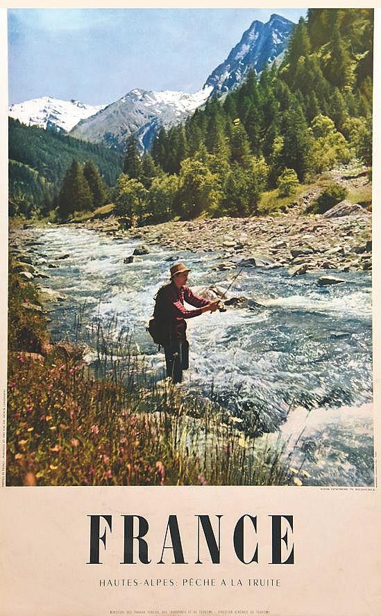 Hautes - Alpes : Pêche a la Truite