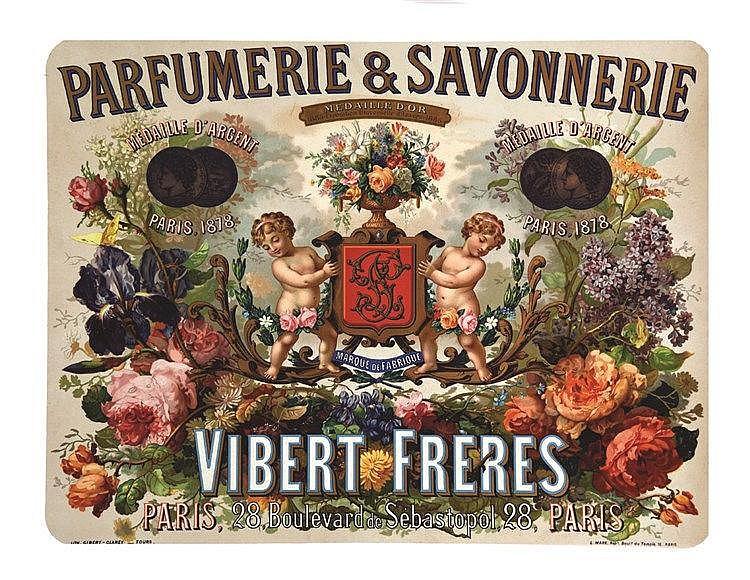 Vibert Freres -  Parfumerie & Savonnerie     vers 1900
