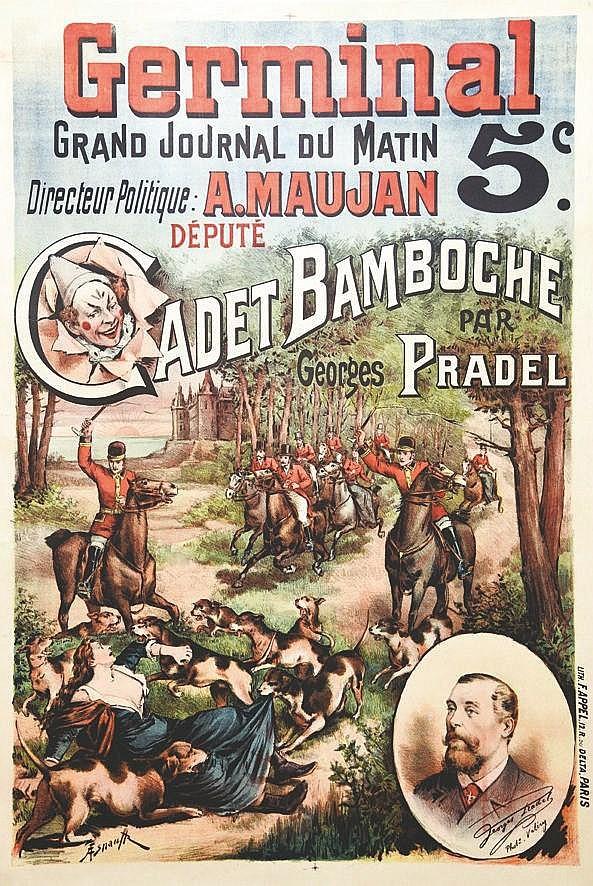 ASNAULT  Cadet Bamboche par Georges Pradel     vers 1900
