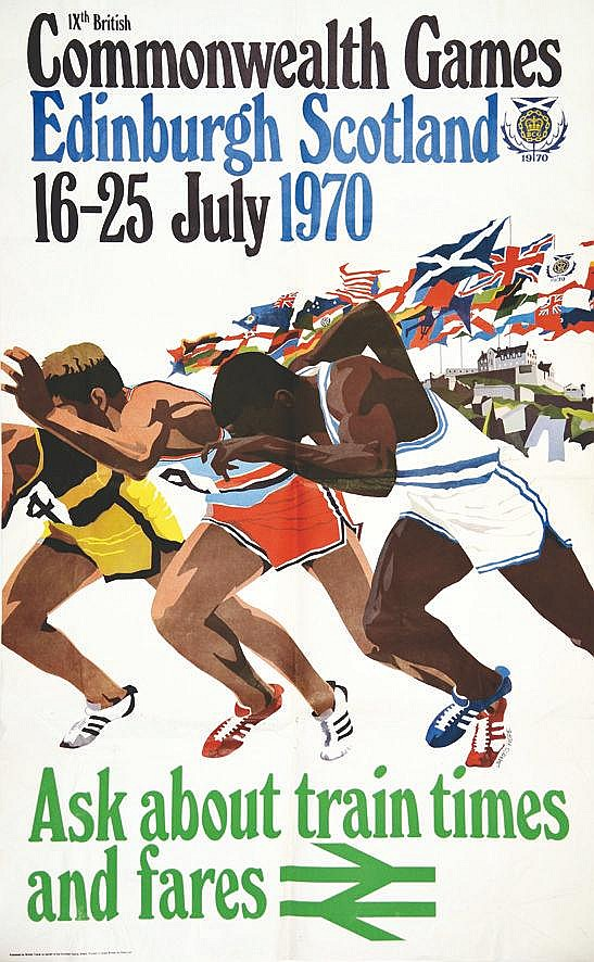 HOPE JAMES  IX th British Commonwealth Games     1970