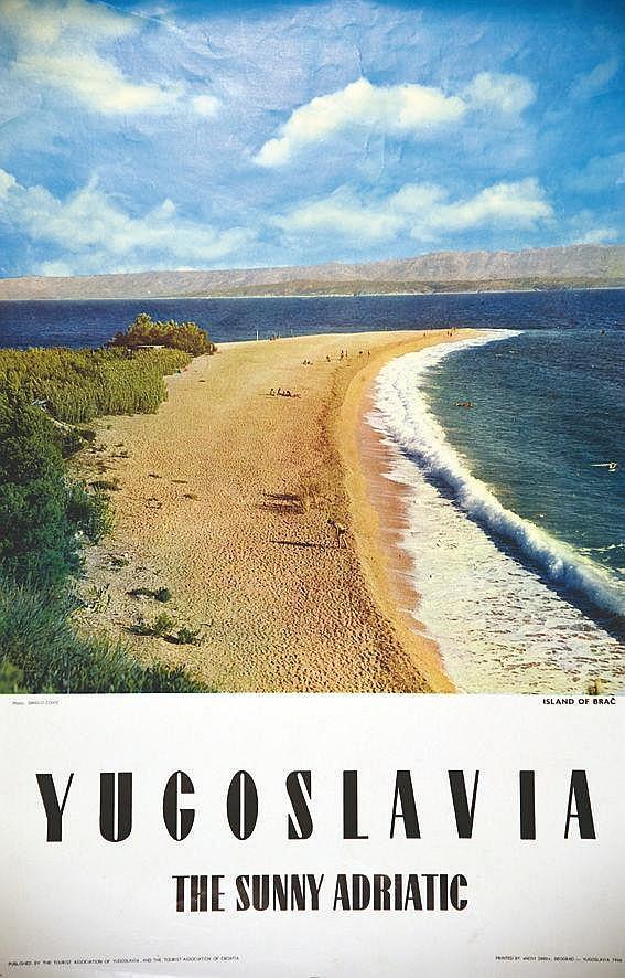 Island of Brac the Sunny Adriatic 1966