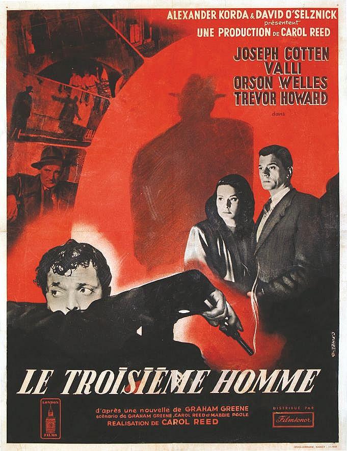 FINEL C.  Le Troisième Homme - Orson Wells