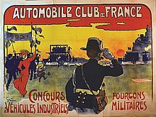 GRÜN  Automobile Club de France     vers 1900