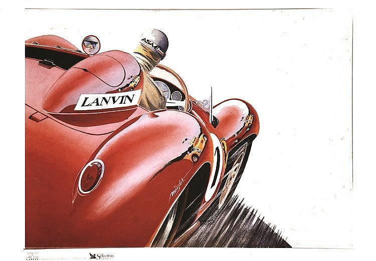 MAGALIT Autodrome de Montlhéry - L'Age d'Or Lanvin 1992