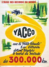 MILLO R.E.  Citroën - Yacco - avec la petite Rosalie     1956