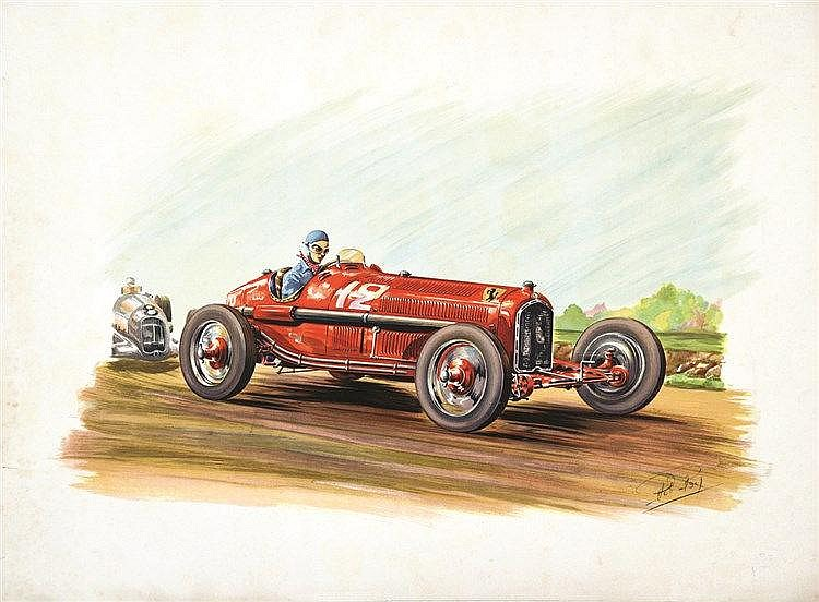 ROY ROB Ferari vers 1930 vers 1930