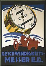 W.M.  Geswindiwigkeits - Messer E.D.     vers 1930