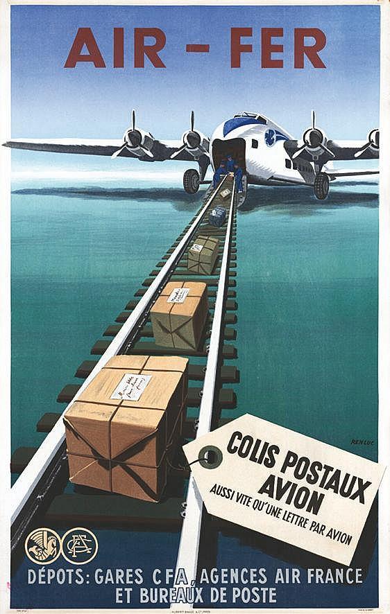 RENLUC  Air France     1949