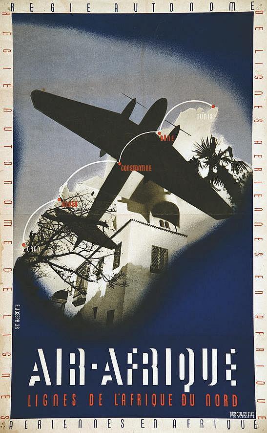 JOSEPH  F.  Air Afrique     1938