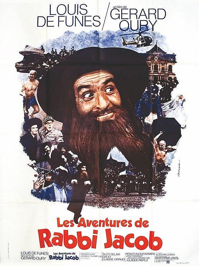 VAISSIER. J.  Les Aventures de Rabbi Jacob - Gérard Oury     1973