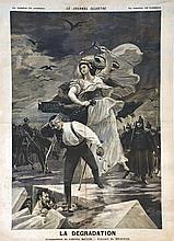 ROYER LIONEL  Dreyfuss - La Dégradation     1895
