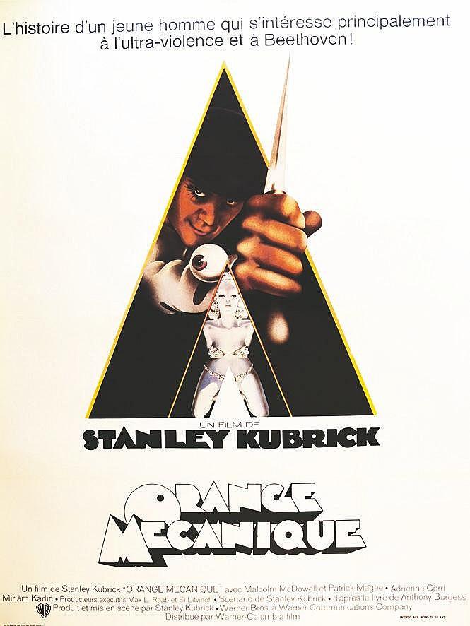 Orange Mécanique - Stanley Kubrick     1971