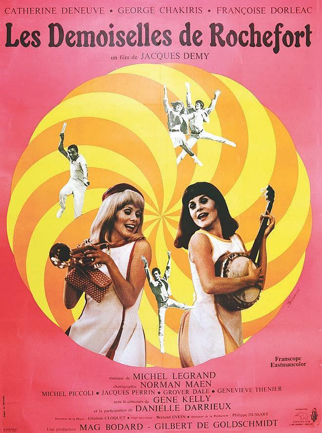 FERRACCI Les Demoiselles de Rochefort 1967