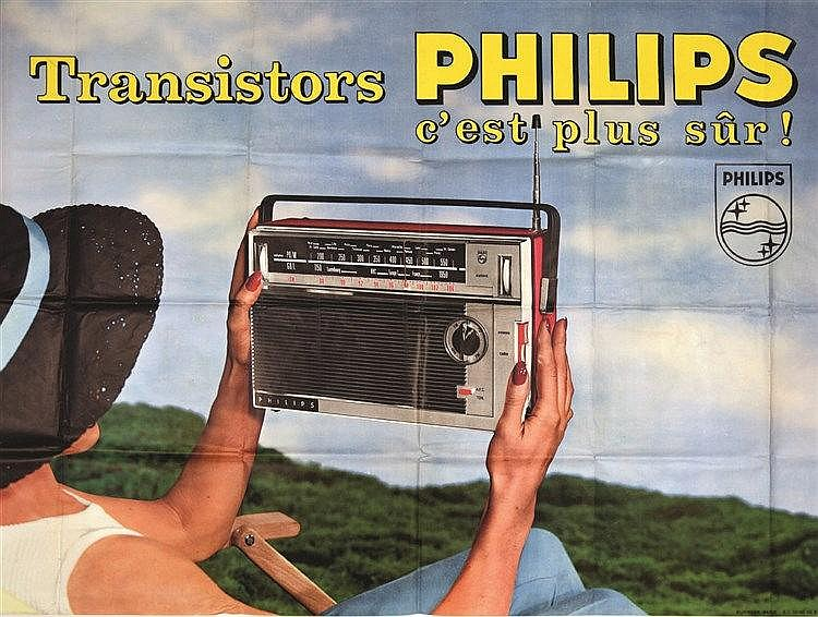 Transistor Philips     vers 1950