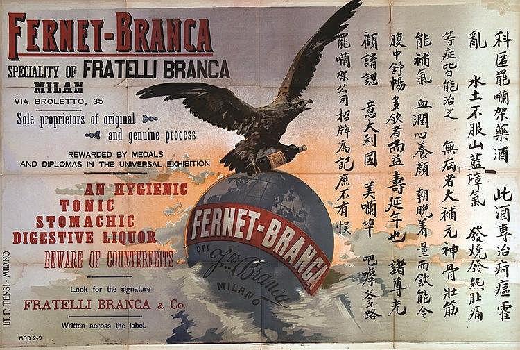 Fernet Branca     vers 1930