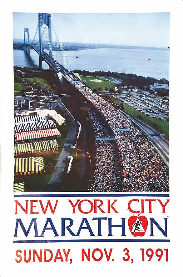 New York Mlarathon 1991     1991