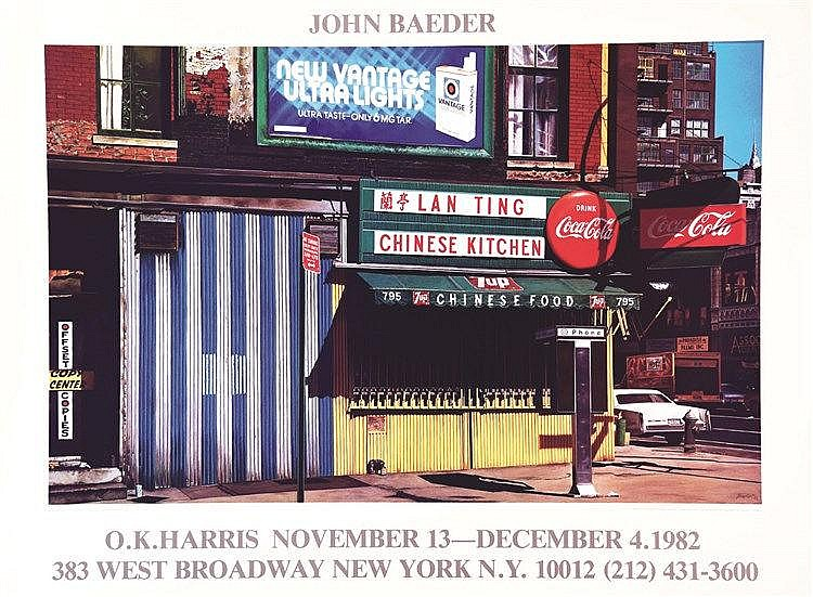 New York - Lan Ting -  John Baeder ok Harris     1982