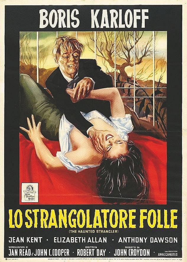 Lo strangolatore folle avec Boris Karloff (