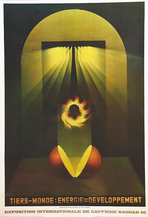 LE PARC JULIO  Bagdad - Exposition Internationale de l'Affiche     1982