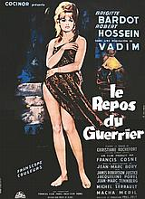 ALLARD G.  Le Repos du Guerrier Brigitte Bardot     vers 1950