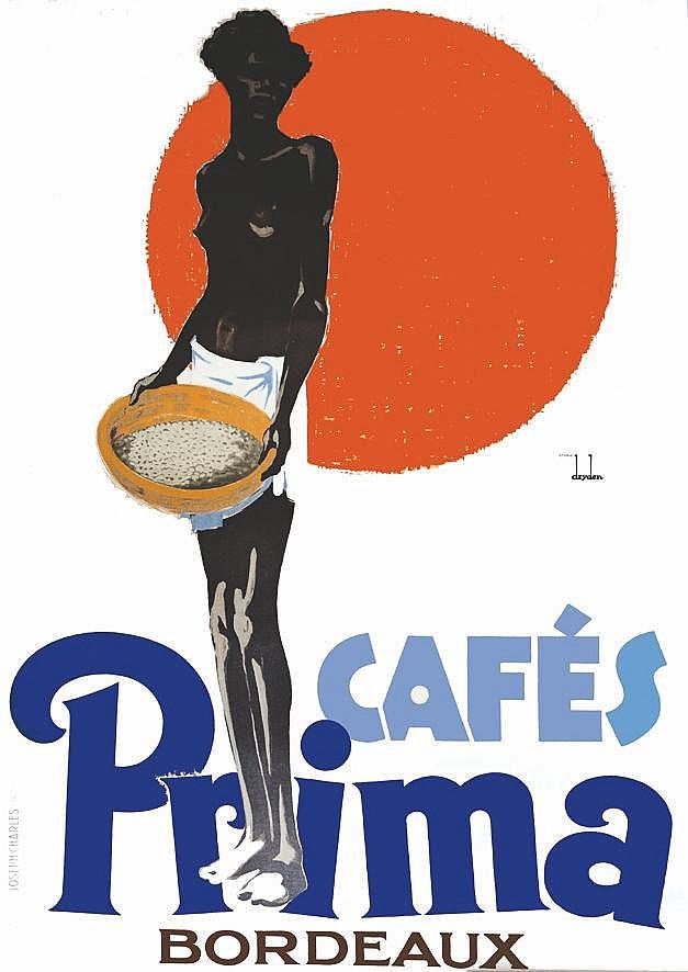 DRYDEN Café Prima vers 1920 Bordeaux (Gironde)