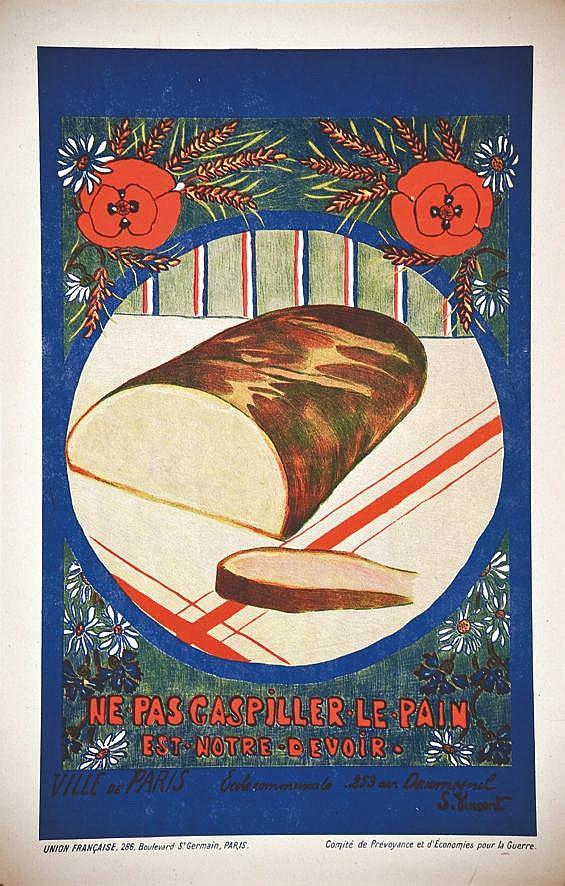 Ne gaspillez pas le pain     1917