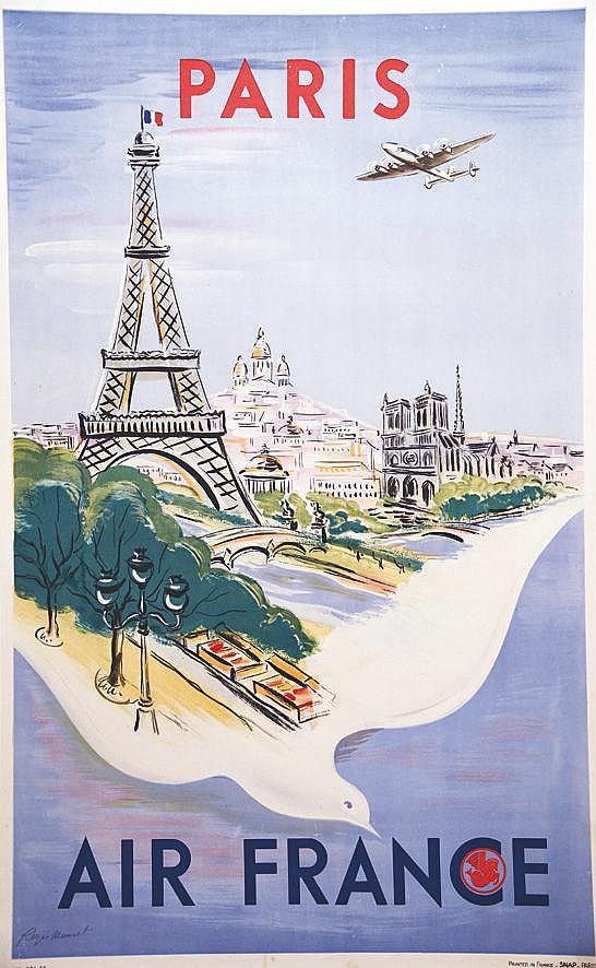 MANSET REGIS  Paris     1947