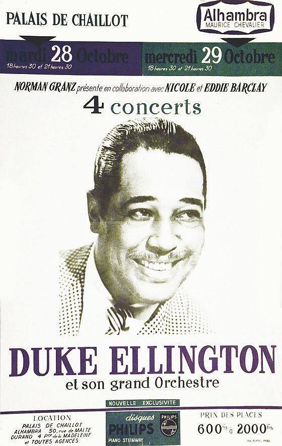 Duke Ellington - Alhambra - Nicole & Eddie Barclay Norman Granz     vers 1960