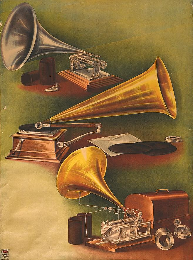 Phono     vers 1900