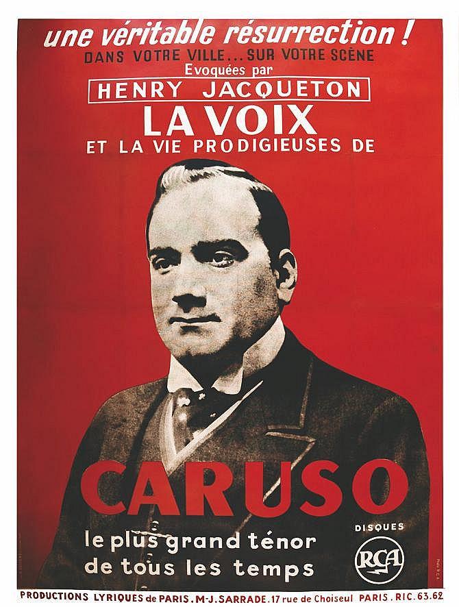 PHOTO R.C.A. Caruso - Une Véritable Résurrection ! La Voix et la Prodigieuses vers 1950