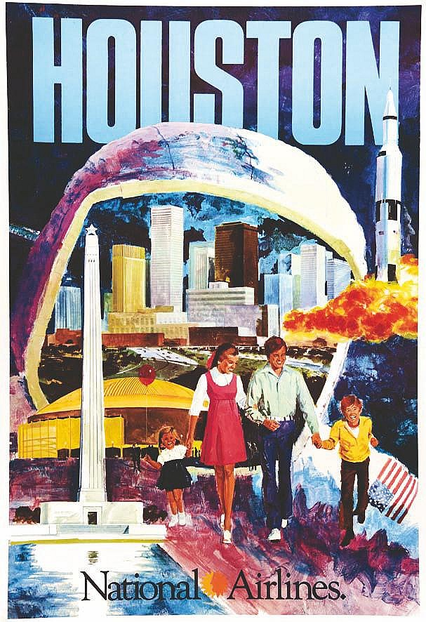 Houston - National Airlines vers 1960