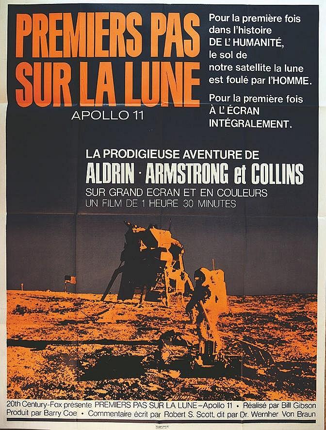 Apollo 11 Premiers Pas sur La lune     vers 1970
