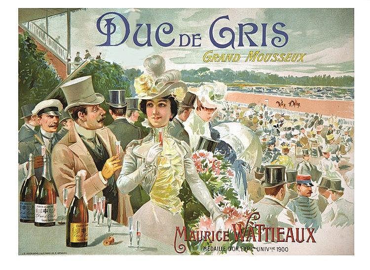 Duc de Gris Grand Mousseux Maurice Wattieaux     vers 1900