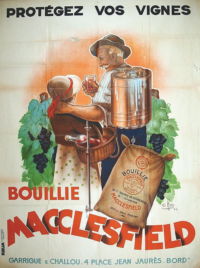CITO Protègez Vos Vignes- Garrigue & Challou - Bouillie - Macclesfield 1934 Bordeaux (Gironde)