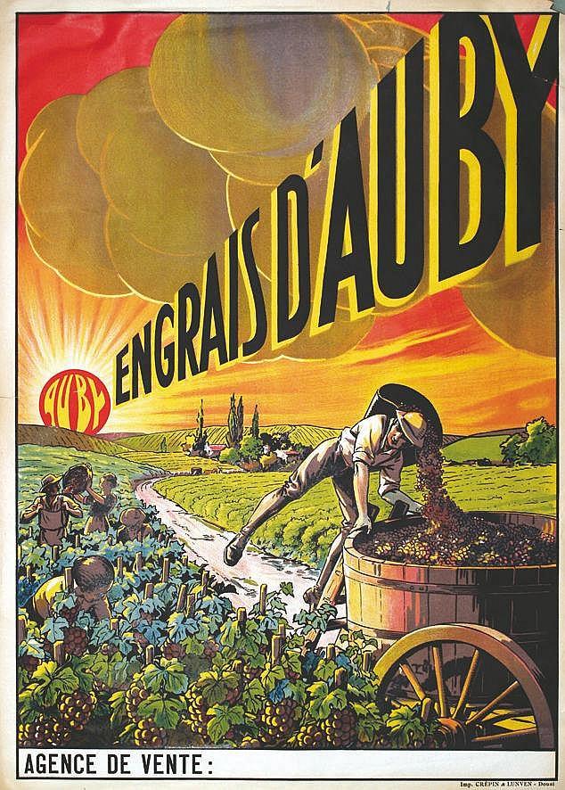 Engrais D'Auby vers 1920