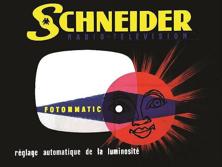ERIC  Schneider Radio - Télévision     vers 1960