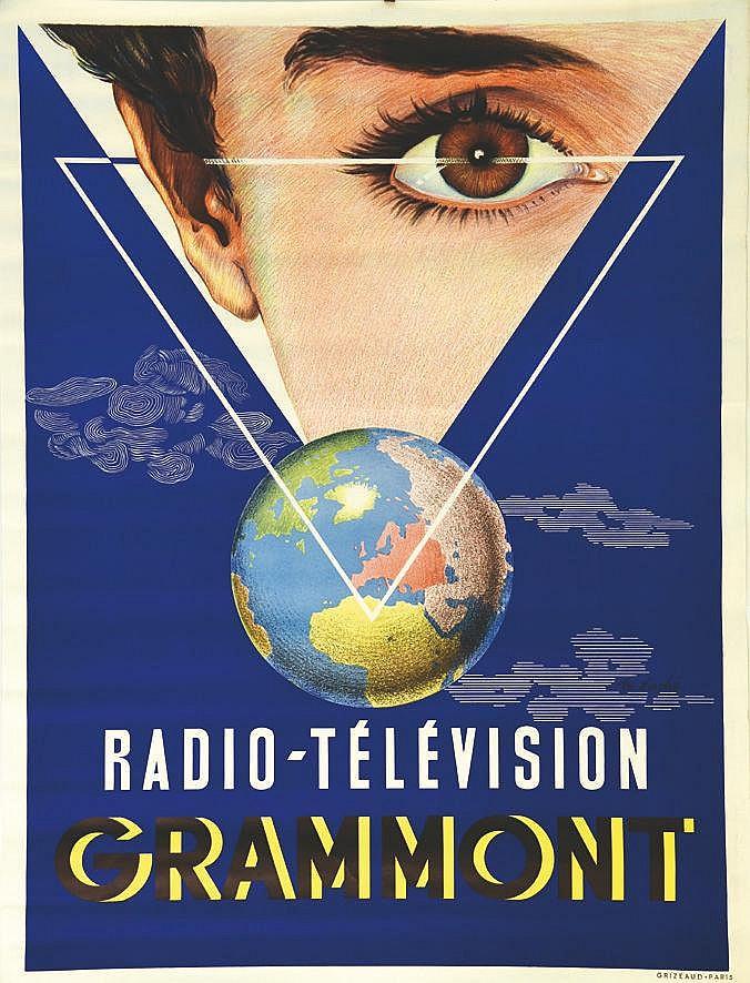 DUCHE M.  Grammont Radio-Télévision     vers 1960